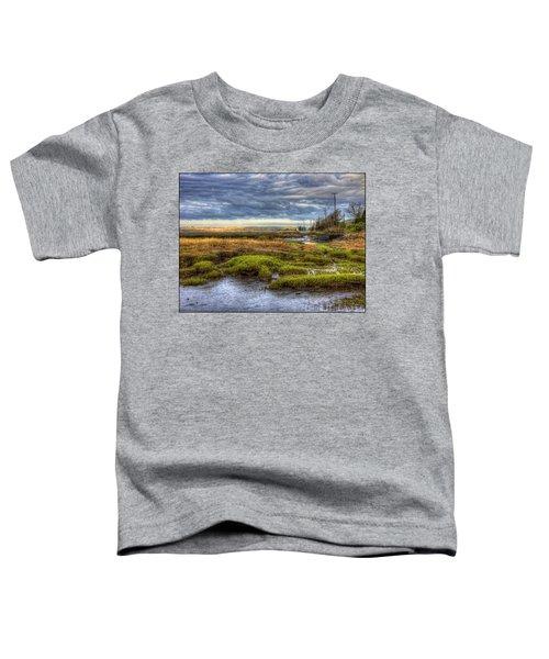 Merrimack River Marsh Toddler T-Shirt
