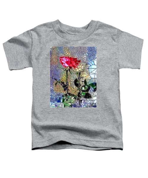 Metalic Rose Toddler T-Shirt