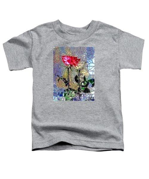 Metalic Rose Toddler T-Shirt