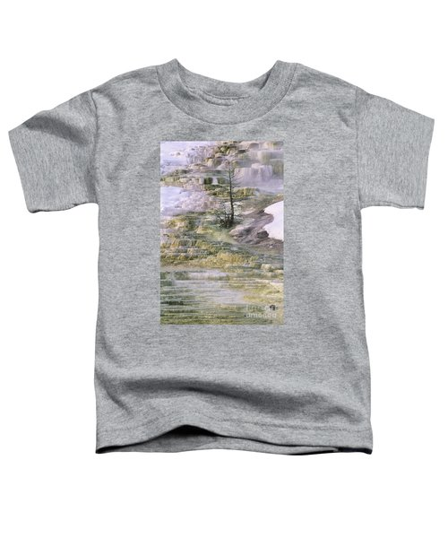 Minerva Springs Terraces Yellowstone National Park Toddler T-Shirt