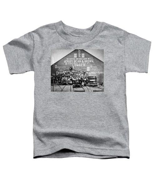 Minnesota Sawmill, 1870 Toddler T-Shirt