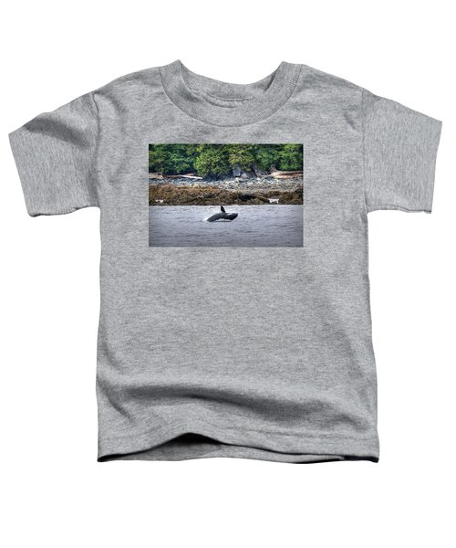Misty Fjords Orca Toddler T-Shirt