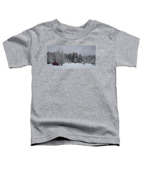 Montana Morning Toddler T-Shirt