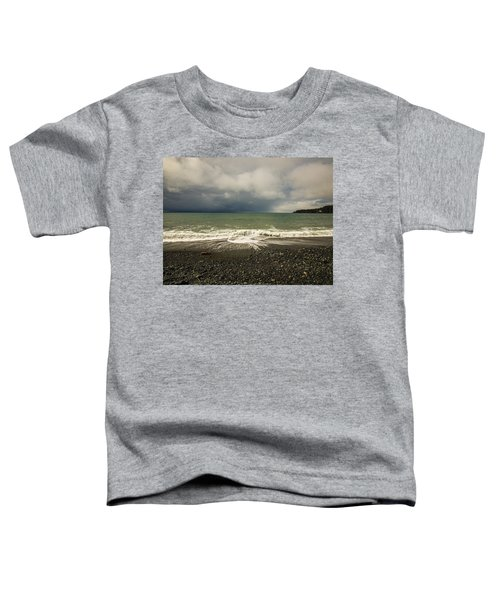 Moody Swirl French Beach Toddler T-Shirt