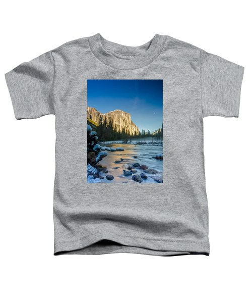 Moon Over El Capitan Toddler T-Shirt
