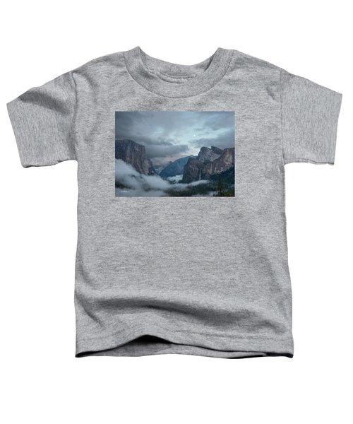 Moon Rise Yosemite Toddler T-Shirt