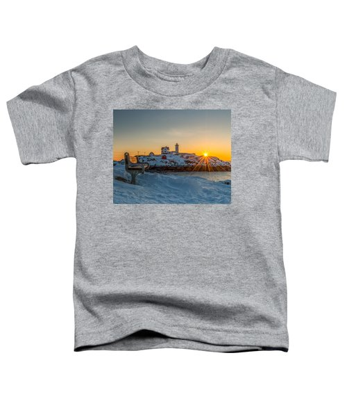Morning Light At Nubble Lighthouse Toddler T-Shirt