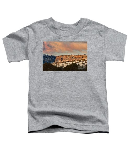 Morning Sun On The Ridge Toddler T-Shirt