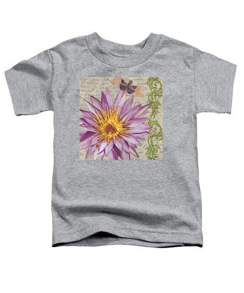 Moulin Floral 1 Toddler T-Shirt
