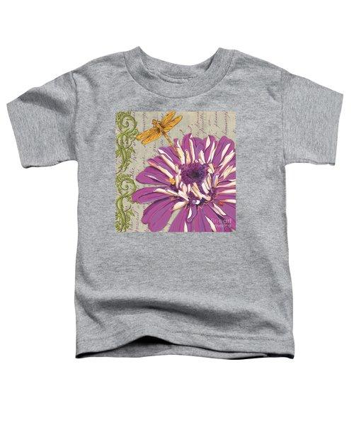 Moulin Floral 2 Toddler T-Shirt