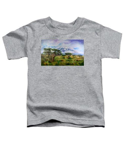 Mount Kilimanjaro Tanzania Toddler T-Shirt