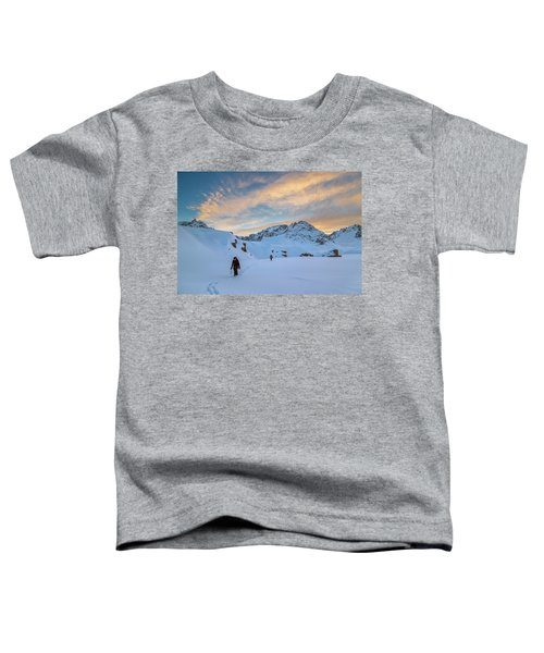 Mountaineers Zac Poulton And Sam Oddie Toddler T-Shirt