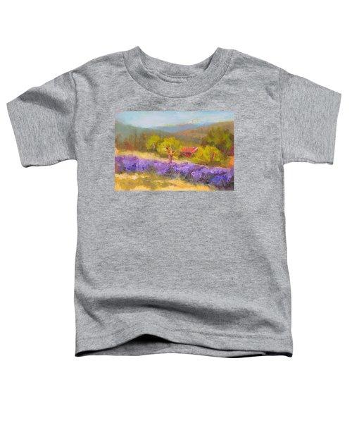 Mountainside Lavender   Toddler T-Shirt