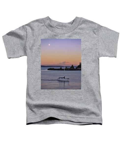Mt. Rainier Afterglow Toddler T-Shirt