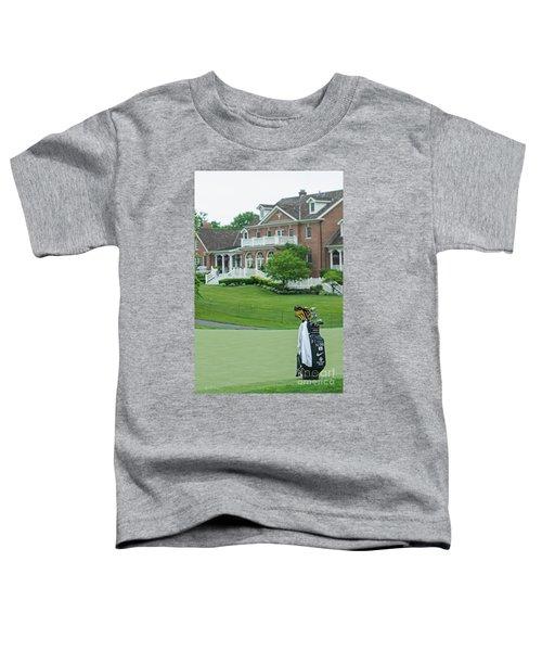 D12w-289 Golf Bag At Muirfield Village Toddler T-Shirt