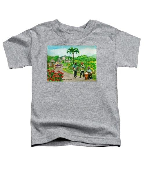 Musicians On Island Of Grenada Toddler T-Shirt