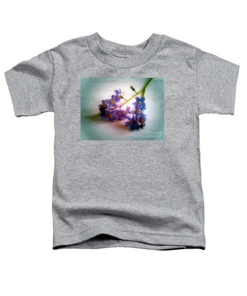 Myosotis  Forget Me Not Toddler T-Shirt