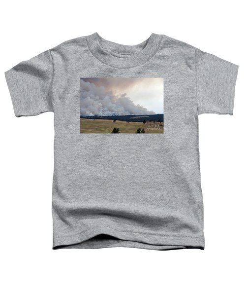 Myrtle Fire West Of Wind Cave National Park Toddler T-Shirt
