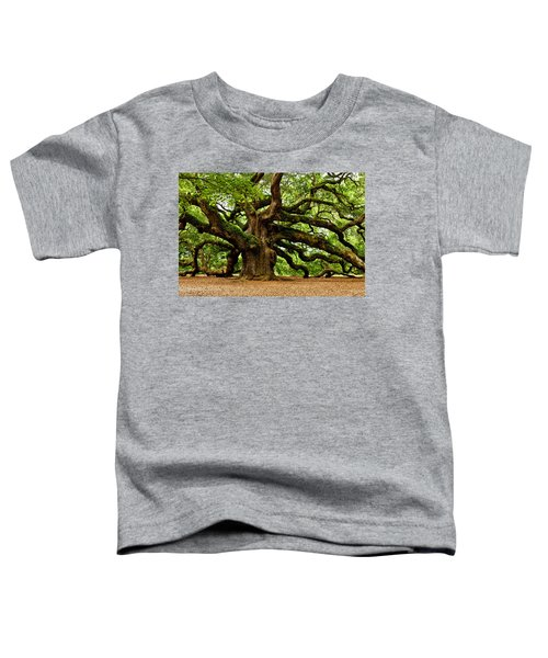 Mystical Angel Oak Tree Toddler T-Shirt