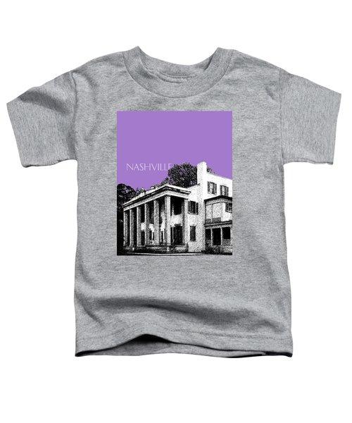 Nashville Skyline Belle Meade Plantation - Violet Toddler T-Shirt