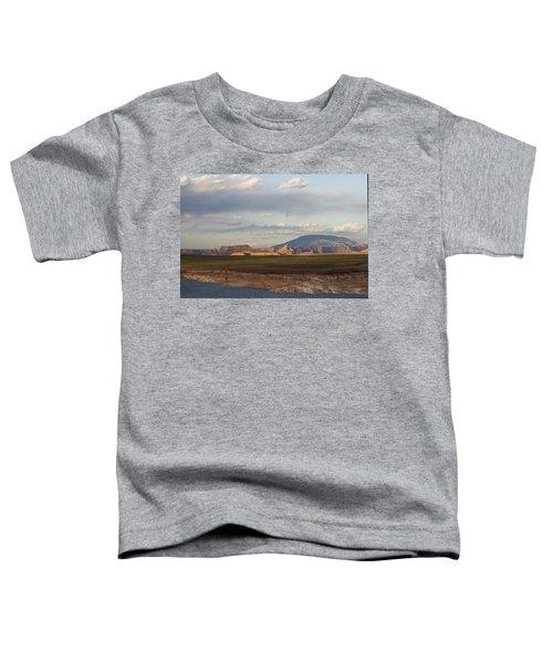 Navajo Mountain View Toddler T-Shirt