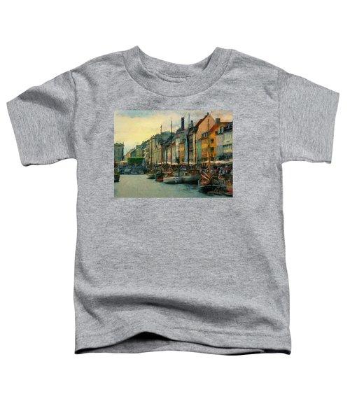 Nayhavn Street Toddler T-Shirt