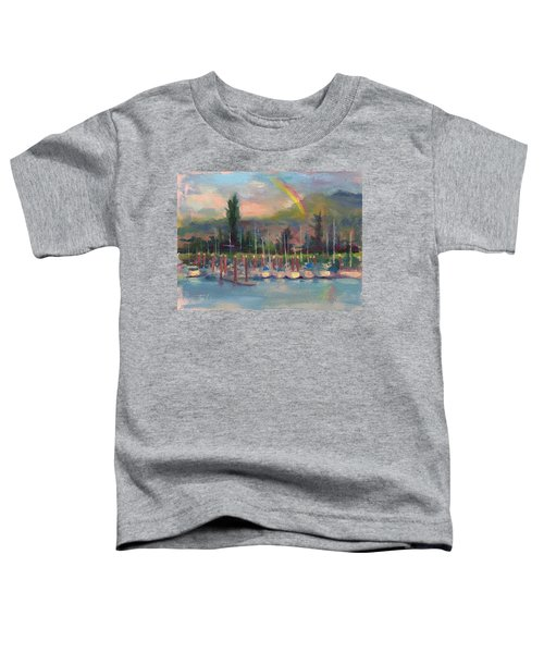New Covenant - Rainbow Over Marina Toddler T-Shirt