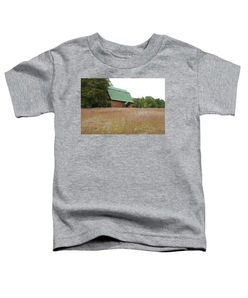 New England Scene Toddler T-Shirt
