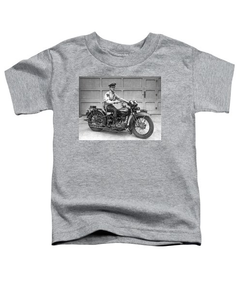 New Jersey Motorcycle Trooper Toddler T-Shirt
