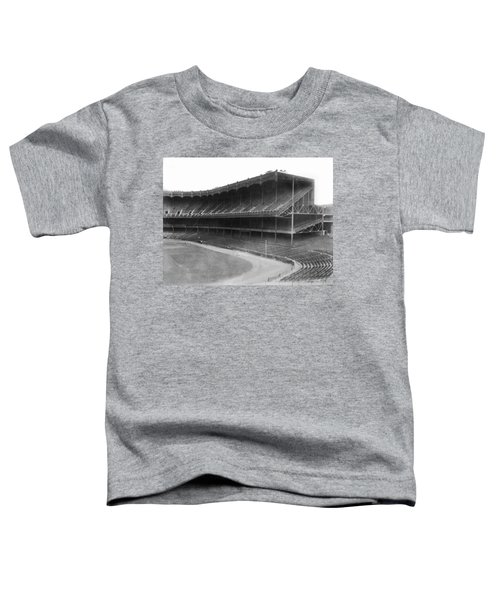 New Yankee Stadium Toddler T-Shirt by Underwood Archives