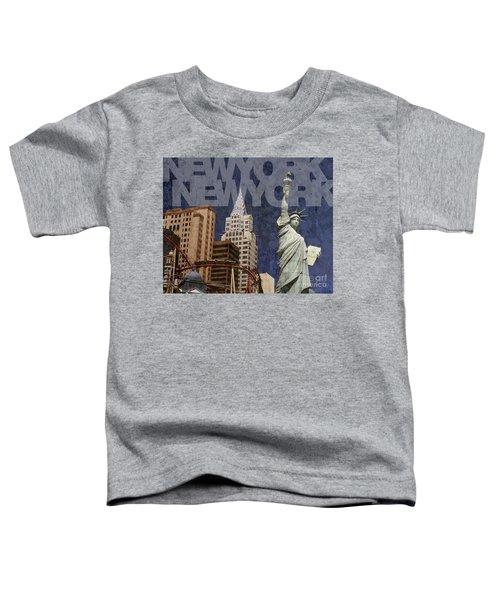 New York New York Las Vegas Toddler T-Shirt