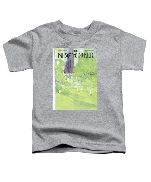 New Yorker April 24th, 1971 Toddler T-Shirt