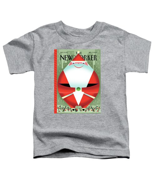 New Yorker December 17th, 2007 Toddler T-Shirt