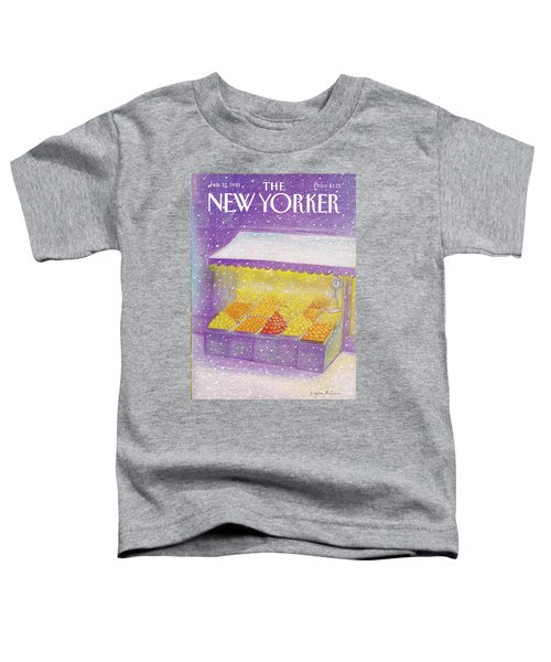 New Yorker January 12th, 1981 Toddler T-Shirt