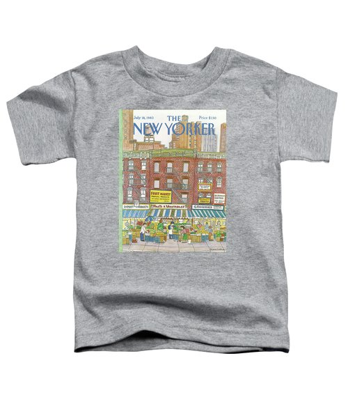 New Yorker July 18th, 1983 Toddler T-Shirt