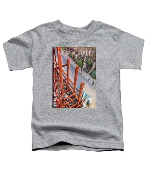 New Yorker July 9th, 1955 Toddler T-Shirt