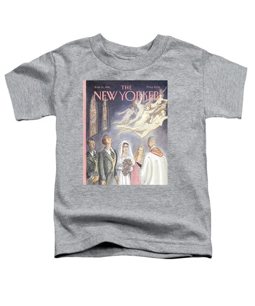 New Yorker June 15th, 1998 Toddler T-Shirt