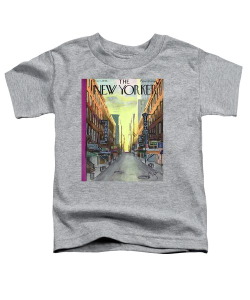 New Yorker May 1st, 1948 Toddler T-Shirt