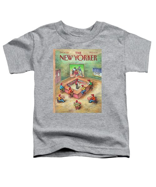 New Yorker October 19th, 1987 Toddler T-Shirt