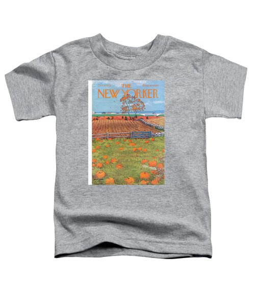 New Yorker October 28th, 1972 Toddler T-Shirt