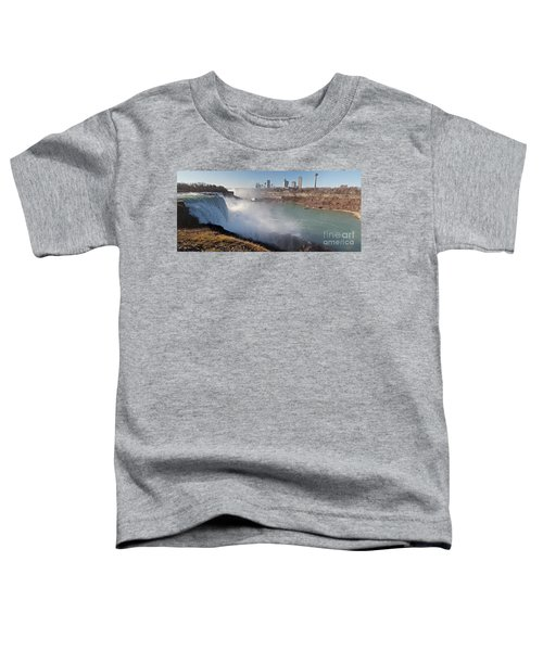 Niagara Falls Panorama Toddler T-Shirt