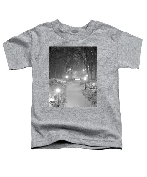 Night Storm New York Toddler T-Shirt