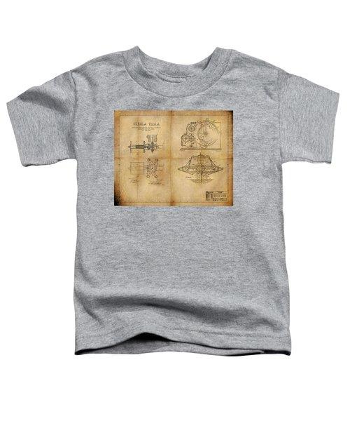 Nikola Telsa's Work Toddler T-Shirt