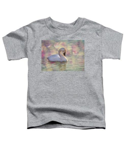 Shy Swan Toddler T-Shirt