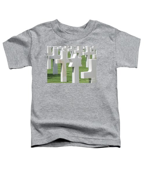 Normandy American Cemetery Toddler T-Shirt