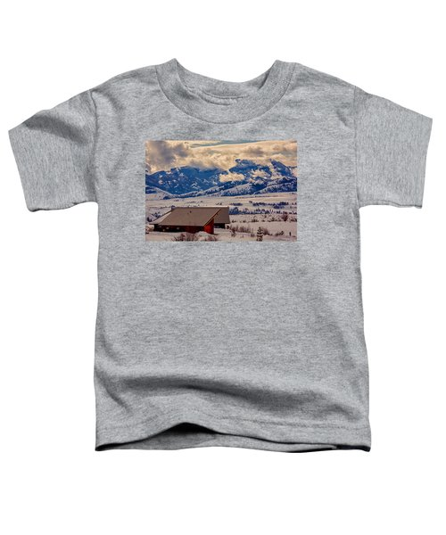 North Cascades Mountain View Toddler T-Shirt