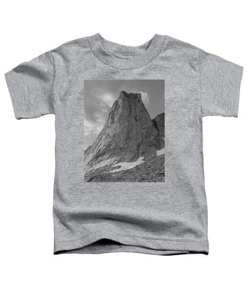 109649-bw-north Face Pingora Peak, Wind Rivers Toddler T-Shirt