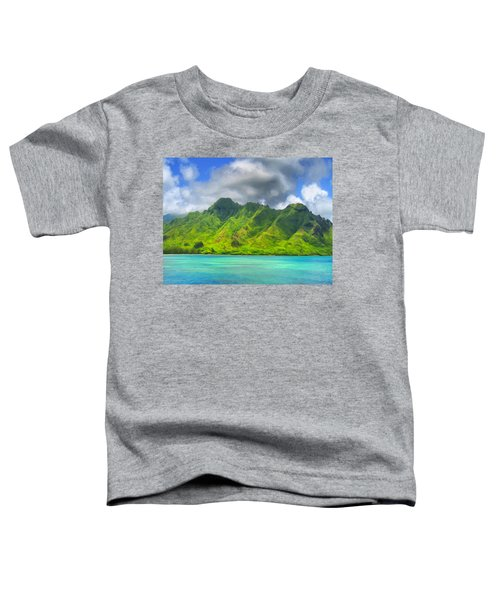 North Shore Of Oahu Toddler T-Shirt