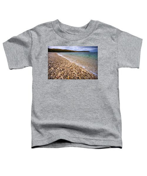 Northern Shores Toddler T-Shirt by Adam Romanowicz