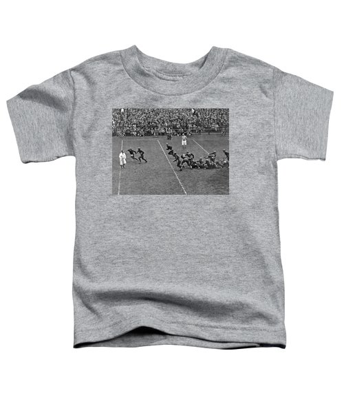 Notre Dame Versus Army Game Toddler T-Shirt by Underwood Archives